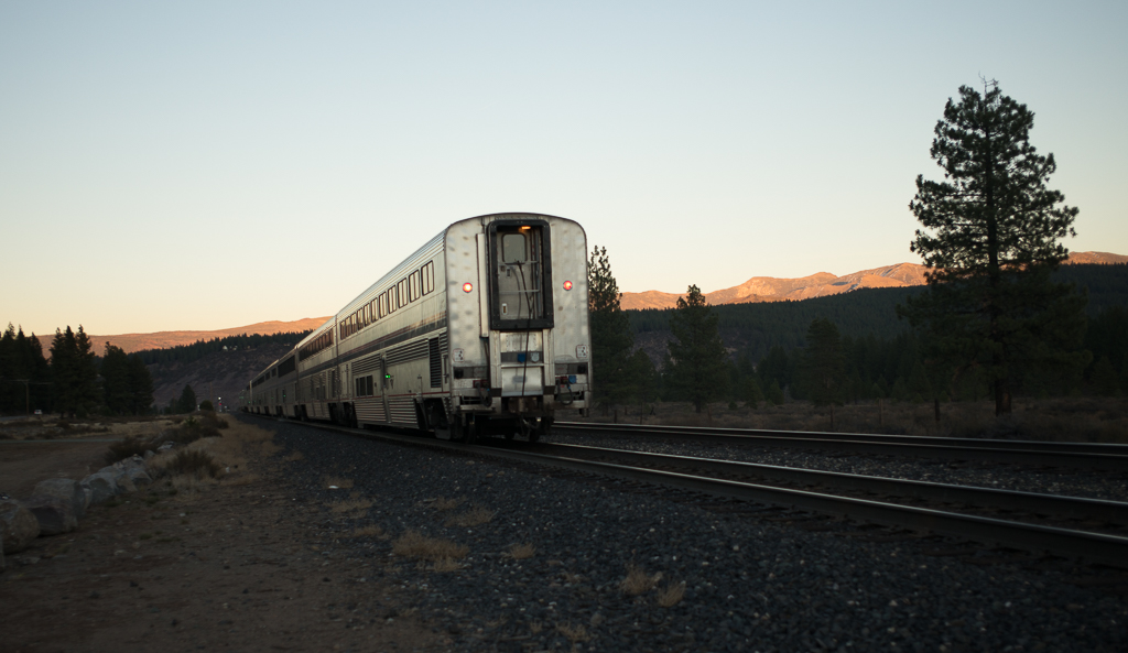Leaving Truckee for Chicago