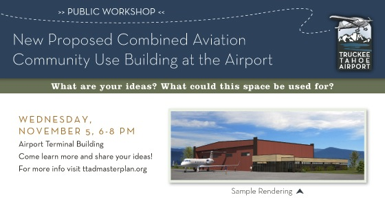 Public Workshop on Jet Hangar in Truckee