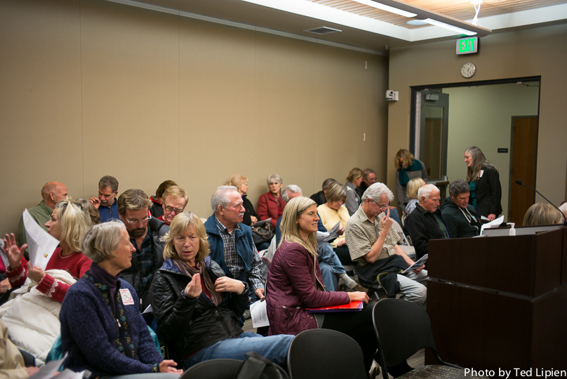 Martis Valley West and Tahoe Basin and Tahoe Basin Development Meeting Dec. 9 2014