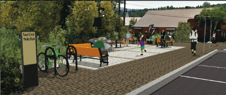 Trout Creek Pocket Park in Truckee needs donations