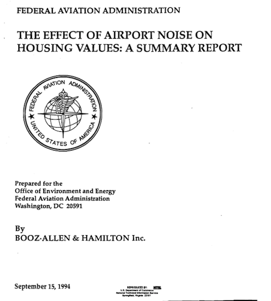 Airport Noise-Home Values