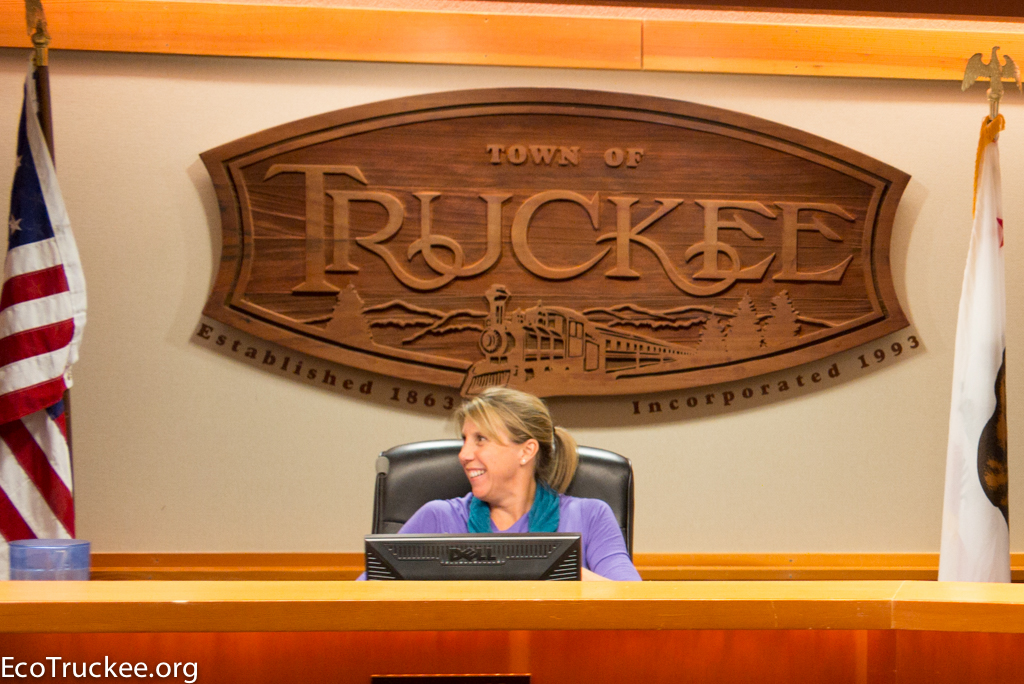 Town of Truckee Mayor Alicia Barr
