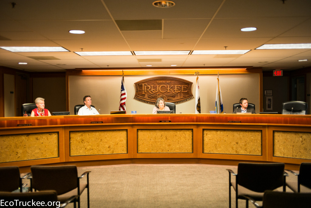 July 14, 2015 Town of Truckee Council Meeting
