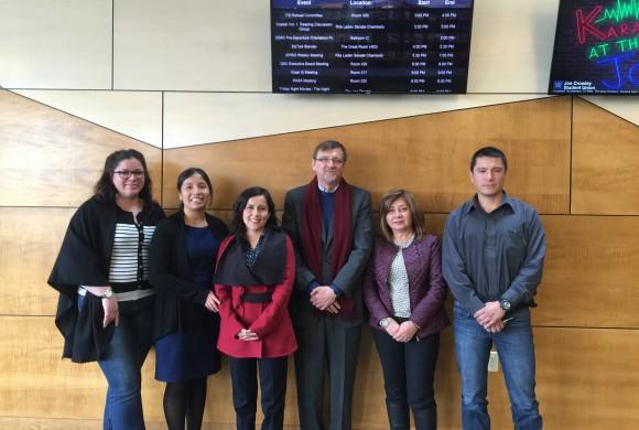 Eco Truckee Tahoe meets Peruvian environmental protection officials